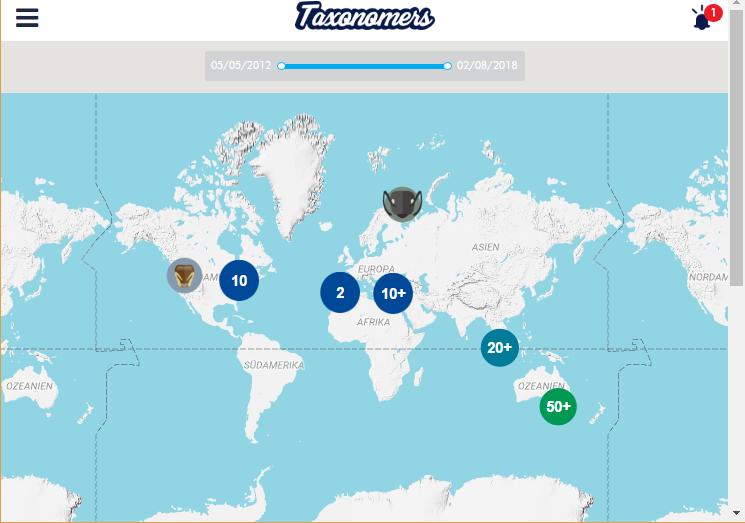 Im Netz entdeckt: Taxonomers.com