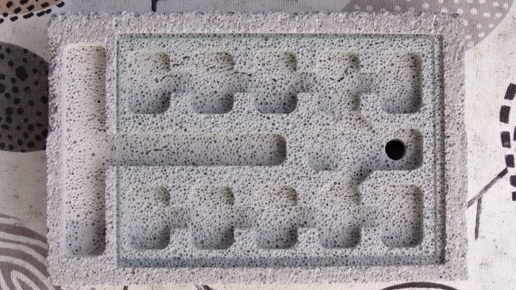 Bild des Ytong-Nest Prototyps von oben